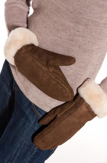 Alpaka Lederfausthandschuh aus 100% Alpaka- und Schaf-Fell