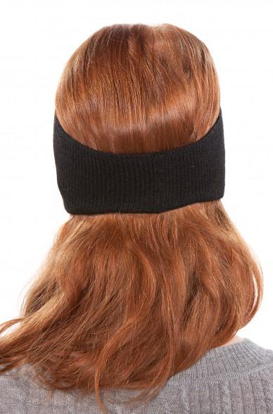 Stirnband UNI mit Ohrenklappen Alpaka
