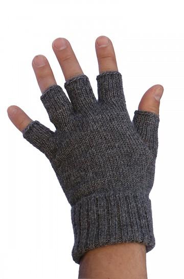 Handschuhe HALBFINGER Alpaka fingerlos von APU KUNTUR