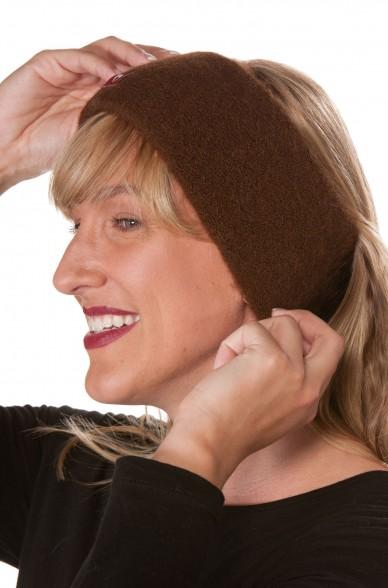 Alpaka Stirnband STRETCH aus 100% Baby Alpaka