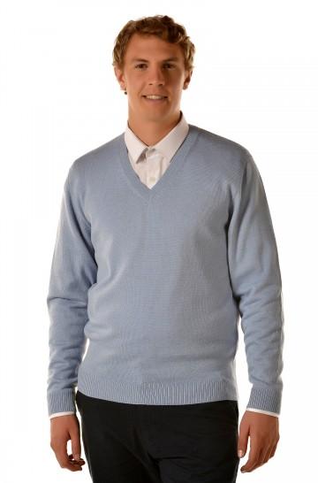 Herren Strickpullover ALAN Alpaka Basic von KUNA Essentials