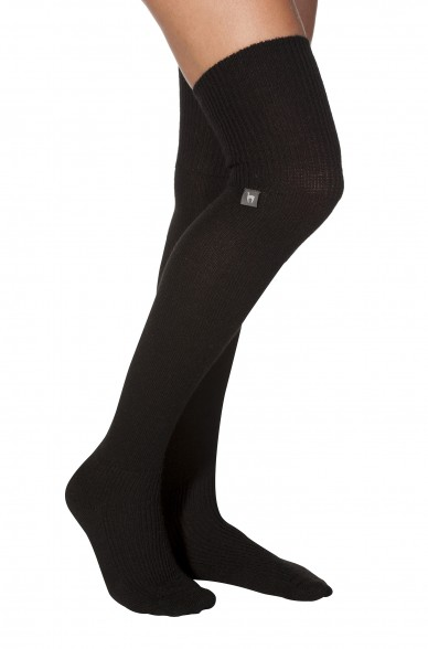 Alpaka Socken OVERKNEE aus 52% Alpaca & 18% Wolle
