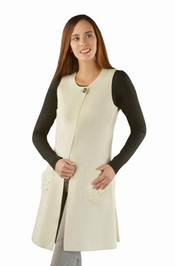 Frühjahrs-Kleid OBSEQUIO Alpaka Wolle