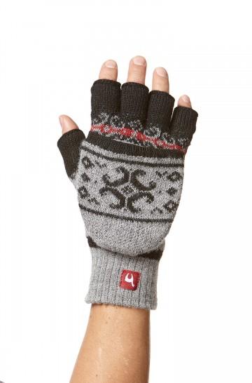 Alpaka Känguru Handschuhe ANDEN VIENTOS aus 100% Alpaka Superfine