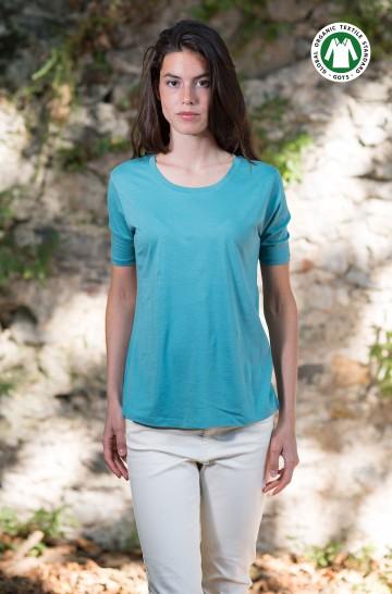 T-Shirt KURZARM Bio Pima-Baumwolle