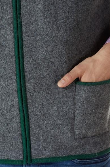 Alpaka Weste FELIX aus 60% Alpaka