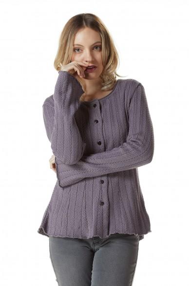 Cardigan VALERIA aus Bio Pima Baumwolle
