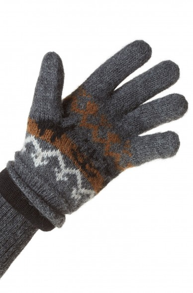 Alpaka Fingerhandschuhe NATURA aus 100% Alpaka Superfine