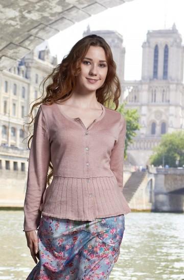 Strick-Cardigan HANNA aus Bio-Pima-Baumwolle für Damen