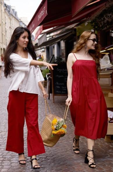 Kleid HOLLY aus 100% Bio Pima Baumwolle