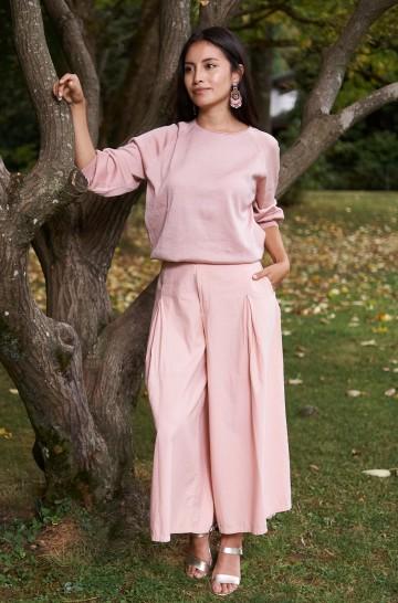 Culotte-Hose ANNA aus Bio-Pima-Baumwolle für Damen