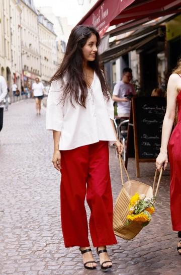 Culotte-Hose GRACE aus Bio-Baumwolle für Damen
