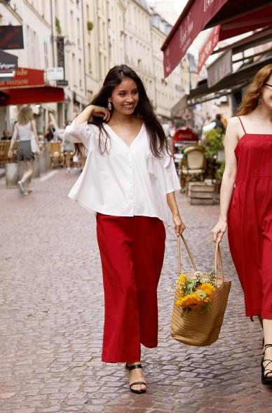 Culotte-Hose GRACE aus 100% Pima Bio Baumwolle