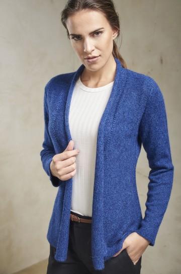 Cardigan SATURN Baby Alpaka Wolle Strickjacke für Damen
