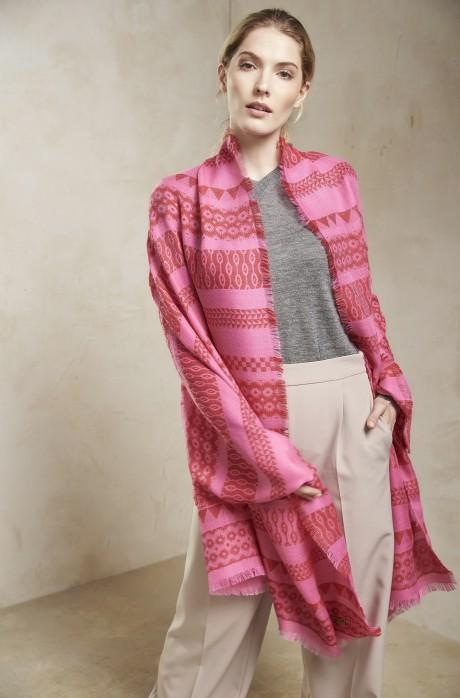 Stola SAMURAI Damen Baby Alpaka Wolle