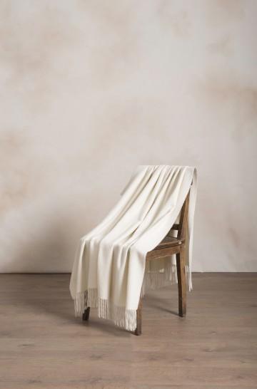 Alpaka Decke JET aus 100% Baby Alpaka