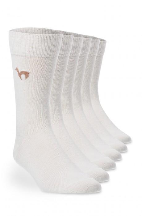 Alpaka Socken 6er Pack BUSINESS aus 52% Alpaka & 18% Wolle