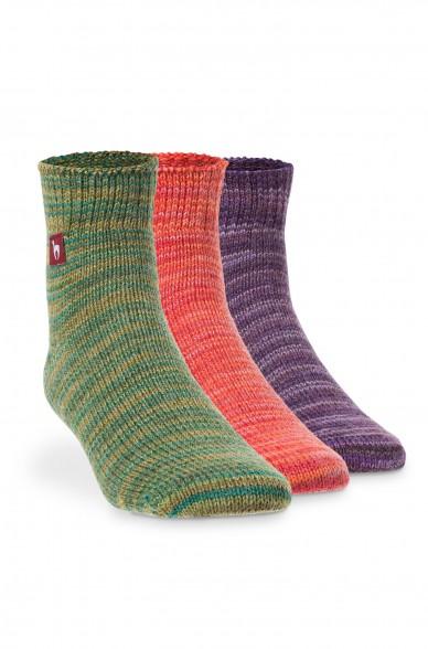 Alpaka Socken FREIZEIT aus 52% Alpaka & 18% Wolle