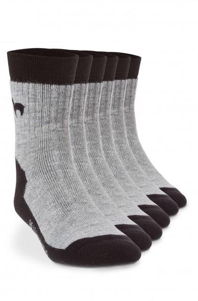 Alpaka Socken TREKKING 6er Pack aus 52% Alpaka & 18% Wolle