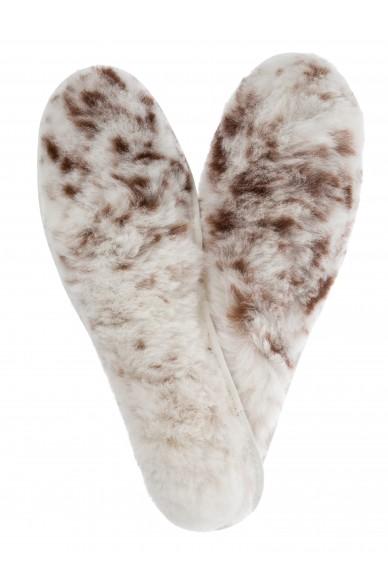 Alpaka FELLSOHLE Gr.34-47 Einlege-Sohlen Schuheinlage mit Alpaka-Fell APU KUNTUR