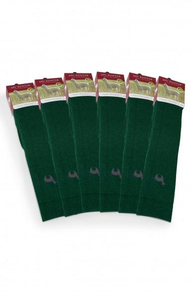 Alpaka JAGDSOCKEN 6er Pack aus  52% Alpaka & 18% Wolle