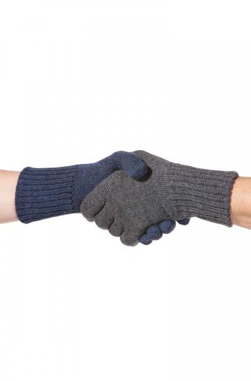 Fingerhandschuhe UNI WENDBAR für Damen und Herren zweifarbig von APU KUNTUR