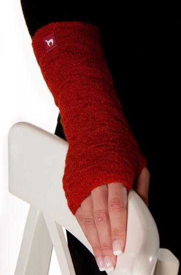 Pulswärmer BIESEN Baby Alpaka Armstulpen Gelenkwärmer von APU KUNTUR