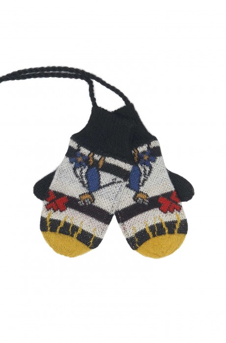 Alpaka Handschuhe AMOR für Kinder aus 70% Baumwolle