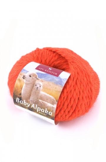 Baby-Alpaka Woll-Knäuel  -AKTION- BULKY 50g 50m Nadel 8 Strick-Häkel-Garn Nm 2/2 APU KUNTUR