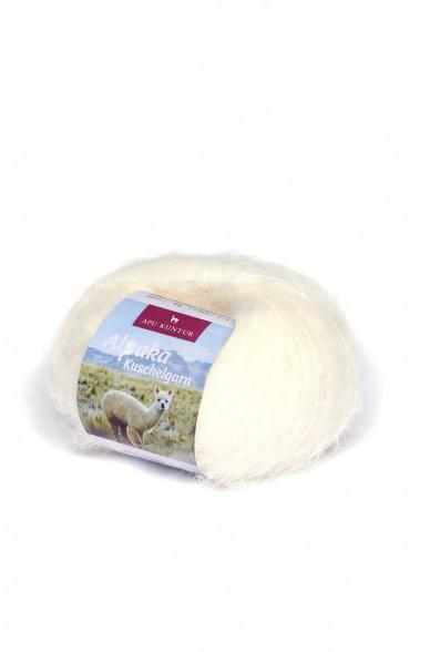 Alpaka Wolle KUSCHELGARN   50g   89% Alpaka Superfine