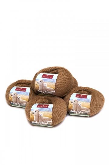 Baby-Alpaka Wolle BULKY 5er-Pack von APU KUNTUR