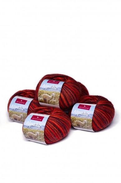 Alpaka Wolle SOCKENGARN   50g   5er Pack   60% Wolle (Superwash)