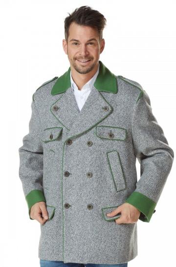 Trachten Mantel LEONARD Alpaka Herren Wolle gefüttert Trachten