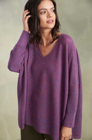 Pullover TALISMAN aus Baby Alpaka und Seide für Damen