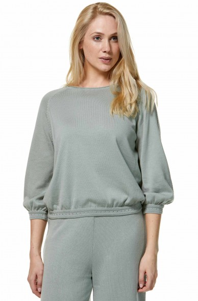 Pullover AGUJAL aus Bio Pima Baumwolle
