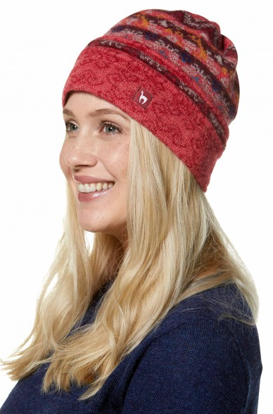 Alpaka Mütze GISA aus 100% Baby Alpaka