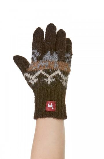 Alpaka Fingerhandschuhe NATURA (Kinder 4-6 Jahre) aus 100% Alpaka Superfine
