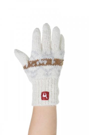 Alpaka Fingerhandschuhe NATURA (Kinder 7-9 Jahre) aus 100% Alpaka Superfine