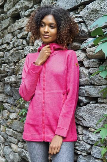 ALPACA SPORT Hoody aus Baby Alpaka und Wolle für Damen