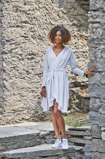 Cardigan Kleid LAMEC aus Bio Baumwolle für Damen