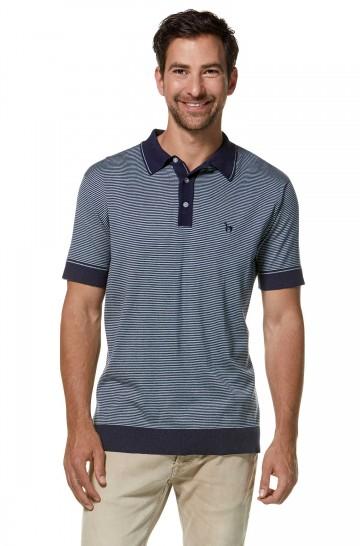 Polo-Shirt DIEGO aus Bio-Baumwolle und Royal-Alpaka für Herren
