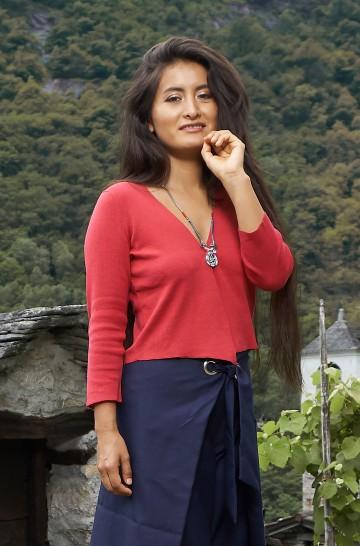 Bolero CLARA aus Bio Baumwolle für Damen