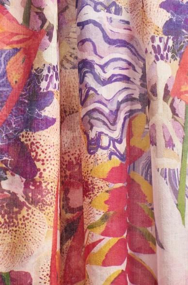 Schal TUNIS aus Baby Alpaka und Seide