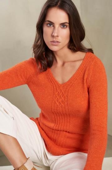 Pullover ROSALIE aus Baby Alpaka für Damen