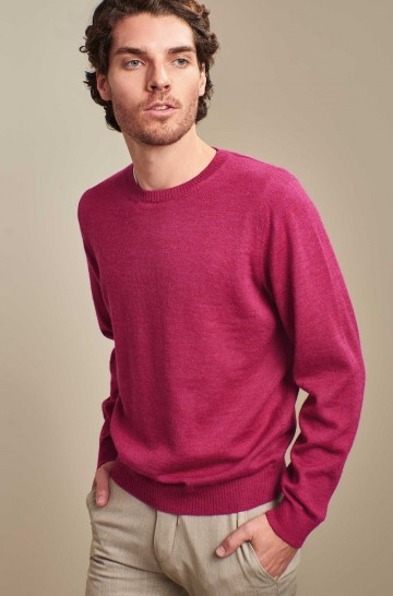 Basic Pullover ALASKA aus Baby Alpaka