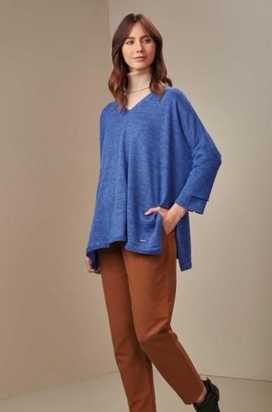 Oversize Pullover UCANA aus Baby Alpaka