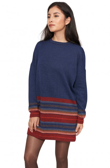 Long-Pullover KYARA aus reinem Baby Alpaka