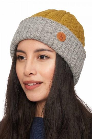 Wendbare Mütze SUAVE aus kuschelweichem Baby Alpaka