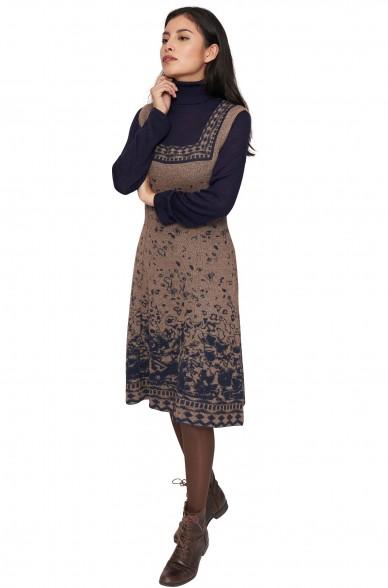 Kleid MAHALA aus 100% Baby Alpaka