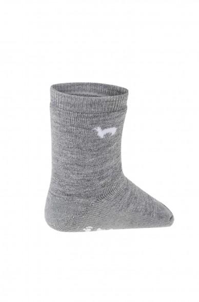 Alpaka Socken Kinder ABS  6er Pack (Gr. 15-29) aus 50% Baby Alpaka